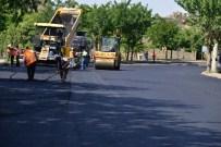 MEZOPOTAMYA - Turistik Caddesi'nde Asfaltlama Başladı