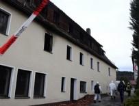 NÜRNBERG - Almanya'da mülteci kabul merkezi yakınında patlama