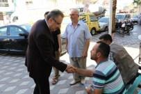 HALIL MEMIŞ - Büyükşehirin Akhisar'daki Hizmetleri Yerinde İncelendi