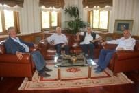 Emekli Orgeneral Atilla Ateş, Başkan Arslan'ı Ziyaret Etti