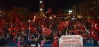 HÜRKUŞ - Erzurum'un Demokrasi Nöbetinde Milli Ruh Dorukta