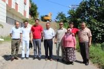 MEHMET İZMEN - Giresun Belediyesi Ekipleri Aksu Ve Çaykara Mahallesinde Çalışmalarını Sürdürüyor
