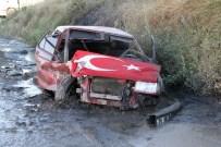 Kastamonu'da İki Otomobil Çarpıştı Açıklaması 7 Yaralı