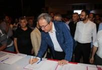 ŞEHİT AİLELERİ - Nevşehir Belediye Başkanı Ünver, İdam Cezası İçin İmza Kampanyasına Destek Verdi
