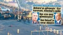 SÖZCÜ GAZETESI - Sözcü'den manipülatif '15 Temmuz' yalanı