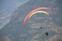 PARAŞÜTÇÜ - Yamaç Paraşütleri Yarışmasının İlk Ayağı Tamamlandı