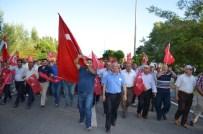 VEDAT DEMİRÖZ - Adilcevaz'da Demokrasi Ve Bayrak Yürüyüşü