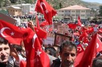 ALAY KOMUTANLIĞI - Beytüşşebap'ta Demokrasi Yürüyüşü