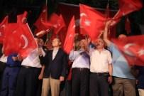 KOCA SEYİT - Edremit'te Demokrasi Nöbeti Devam Ediyor