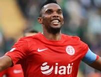 SAMUEL ETOO - Antalyaspor'dan açıklama: Eto'o Beşiktaş'a satıldı mı?
