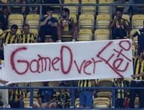 Maça damga vuran pankart: Game Over FETÖ