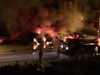 MOBESE KAMERALARI - Galerideki Lüks Araçlar Yakıldı