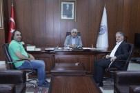 KÖMÜR MADENİ - Yeni Çeltek Kömür İşletmeleri Genel Müdürü Bayrak, Sorgun Belediye Başkanı Şimşek'i Ziyaret Etti