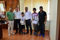 CEMİL ÇİÇEK - Ataşbak, Başarılı Judocuları Kabul Etti