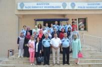 TRAFİK TESCİL - Başkan Bakıcı İlçe Emniyet Müdürlüğü'nü Ziyaret Etti