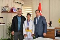 CENK EREN - Bilecikli Başarılı Judocu Türkiye 3'Üncüsü