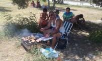 Burhaniye'de Halterciler Piknik Yaptı