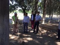 BEKLEME ODASı - Kilis Asri Mezarlık'ta Ki Yeni Hizmet Binası Tamamlandı