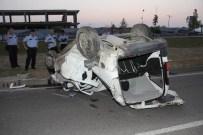 İSMAIL AYDıN - Samsun'da Kamyonet Takla Attı Açıklaması 1 Yaralı