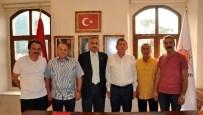 MIHENK TAŞı - TÜRKAV Trabzon Şubesi'nden Başkan Revi'ye Ziyaret