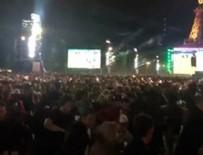 EURO 2016 - Eyfel'in önünde bomba paniği