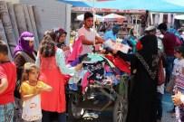 MEHMET ÖZCAN - Iğdır'da Bayram Pazarı Kuruldu