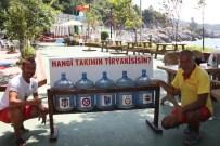 SİGARA İZMARİTİ - Kapuz Plajı'nda 'Hangi Takım Daha Duyarlı Olacak' Uygulaması