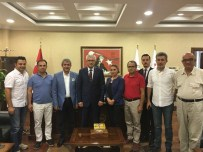 BASIN KARTI - AGC'den Cumhuriyet Başsavcısı Solmaz'a Ziyaret