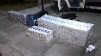 TRAFİK MÜDÜRLÜĞÜ - Kağızman'da 7 Bin Paket Kaçak Sigara Ele Geçirildi