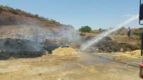 ÜZÜM BAĞI - Türkiye Petrolleri Kahta Sahasında Yangın