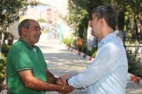 Başkan Şirin Kabristanlıkları Ziyaret Etti