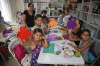 KAĞIT SANATI - Çocuklar Yaz Boyunca Eğitim Görecek