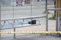 SARAYBAHÇE - Durakta Unutulan Çanta Fünye İle Patlatıldı