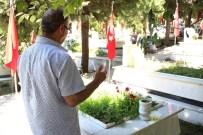 ŞEHİTLİKLER - Şehit Yakınları Bayram Arefesinde Şehitliğe Koştu