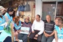 Başkan Üzülmez, Yaşlı Vatandaşları Ziyaret Etti