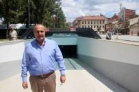 Cumhuriyet Meydanı Yer Altı Otoparkı Hizmete Açıldı