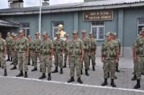ŞEHİT ÜSTEĞMEN - Mehmetçik Türkiye-Ermenistan Sınırında Bayramlaştı