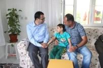 BAŞ ÇAVUŞ - Yavuzeli'nde Şehit Ailelerine Ramazan Bayram Ziyareti