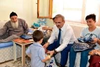 ABDULLAH ÇALIŞKAN - Antalya Valisi Karaloğlu Çocuk Evleri, Huzurevi Ve Aileleri Ziyaret Etti
