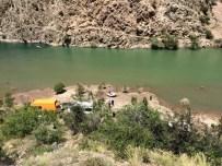 KARAKAMıŞ - Çoruh Nehrinde Kaybolan Genci Arayan Ekibin Karşısına Ayı Çıktı