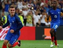 EURO 2016 - Almanları Fransız Griezmann çarptı