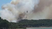 MEHMET GÜRKAN - Alevlere Havadan Ve Karadan Müdahale Sürüyor