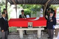 ASKERİ TÖREN - Kıbrıs Gazisi, Törenle Toprağa Verildi