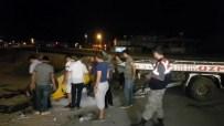Motosiklet Ve Ticari Taksi Takla Attı Açıklaması 2 Ölü, 6 Yaralı