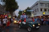 MUSTAFA SANDAL - Kemer Altın Nar Kültür Ve Sanat Festivali Renkli Başladı