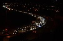 TEM OTOYOLU - TEM otoyolunda trafik yoğunluğu