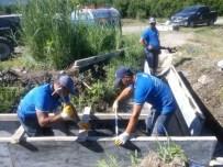 BEYOBASı - Büyükşehir Köyceğiz'de Sulama Tesisleri Ve Kanalları Yeniliyor