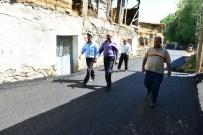 ALİ KORKUT - Çayırtepe'liler İlk Kez Gördükleri Asfaltı Değerlendirdiler;
