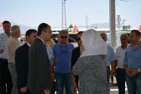 İZMIR VALILIĞI - Vali Toprak,  Resmiye Saraçoğlu'nun Cenaze Törenine Katıldı