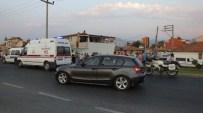 Burhaniye'de Trafik Kazası Açıklaması 2 Yaralı